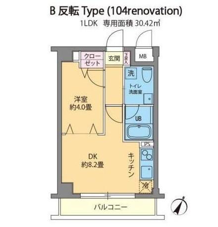 カスタリア千駄ヶ谷104号室