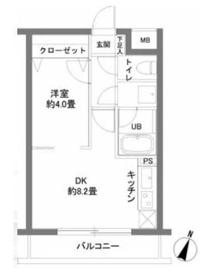 カスタリア千駄ヶ谷203号室