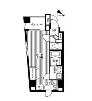 カスタリア新宿御苑302号室