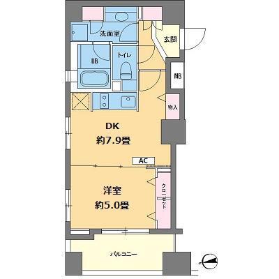 カスタリア高輪台301号室