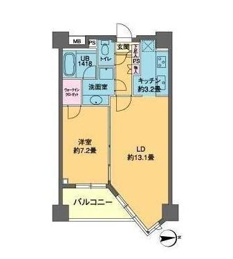 カスタリア高輪311号室