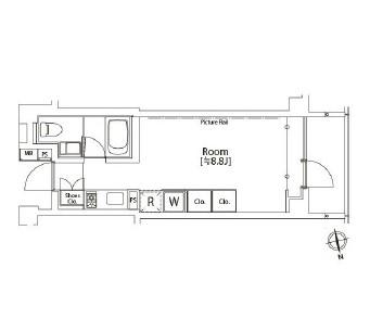 カスタリア市ヶ谷204号室