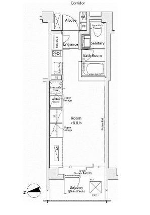 カスタリア市ヶ谷302号室