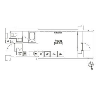 カスタリア市ヶ谷603号室