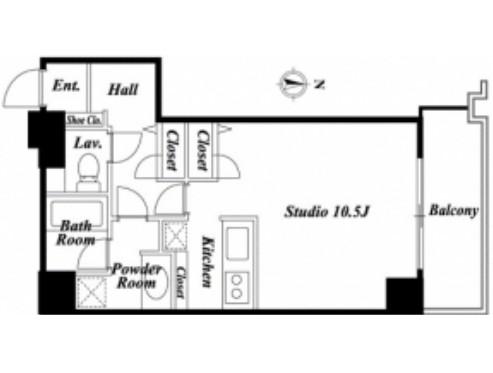 芝公園アパートメント301号室