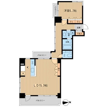 芝公園アパートメント506号室