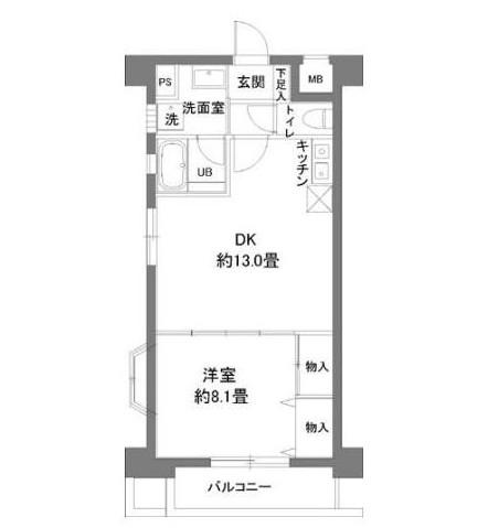 カスタリア新宿7丁目301号室