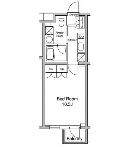 プラウドフラット初台103号室