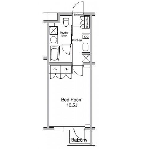 プラウドフラット初台203号室