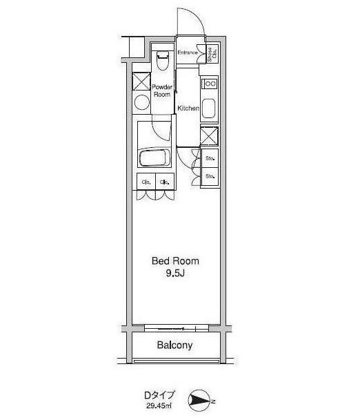 プラウドフラット初台206号室