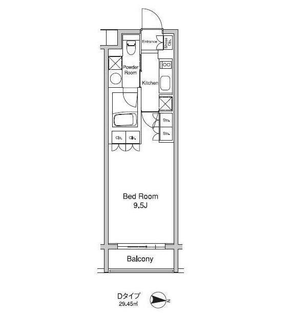 プラウドフラット初台309号室