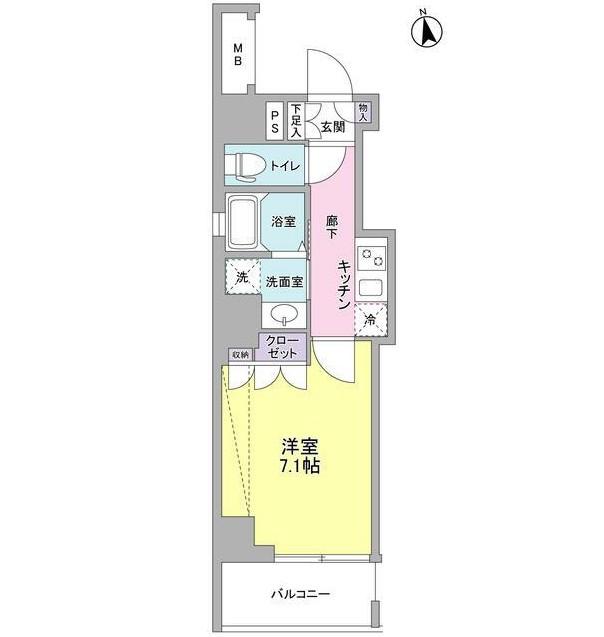 セルビシエ白金1202号室