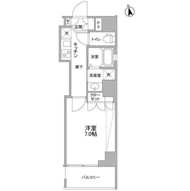 セルビシエ白金401号室