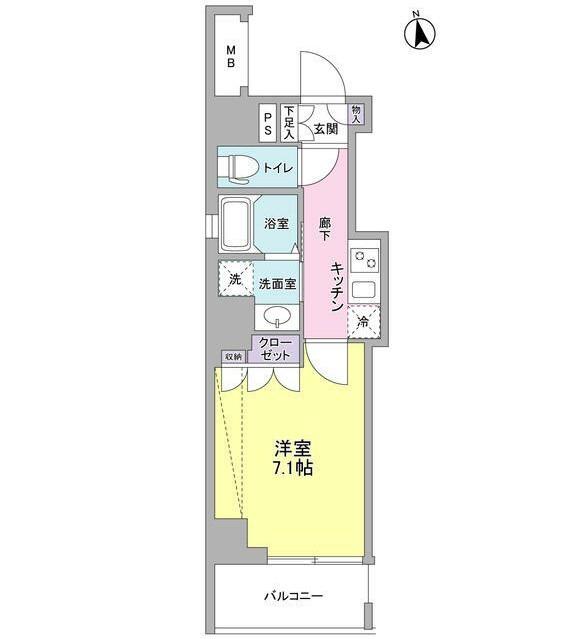 セルビシエ白金802号室