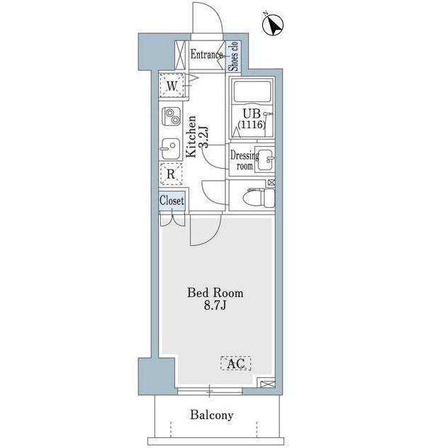 SHOWN HATSUDAI306号室