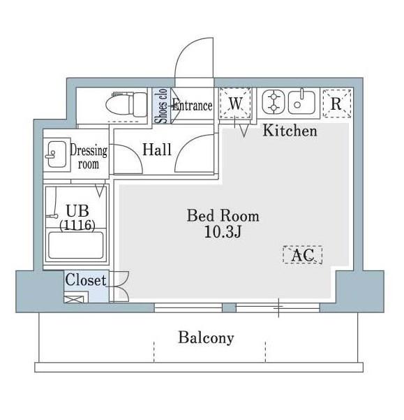 SHOWN HATSUDAI602号室