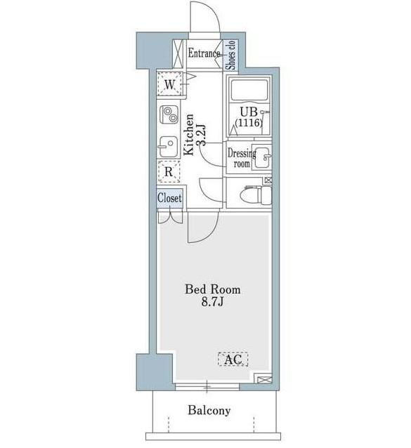 SHOWN HATSUDAI608号室