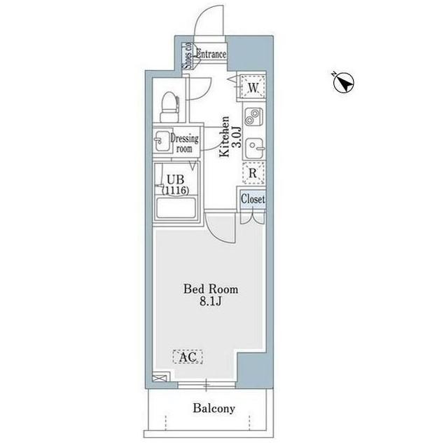 SHOWN HATSUDAI609号室
