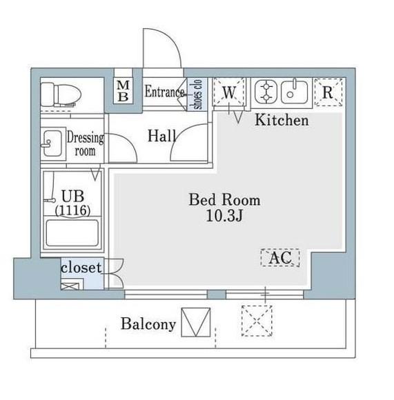 SHOWN HATSUDAI701号室