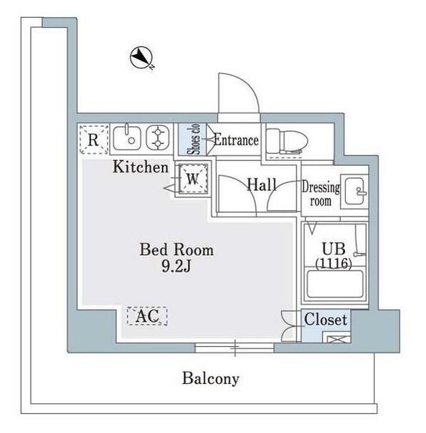 SHOWN HATSUDAI803号室
