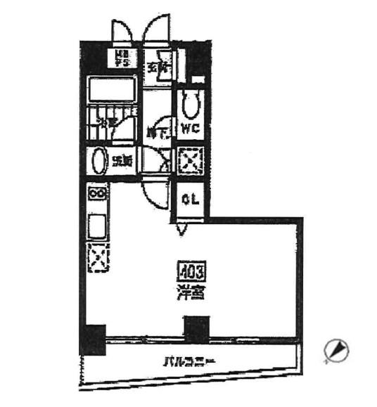 エルスタンザ参宮橋403号室