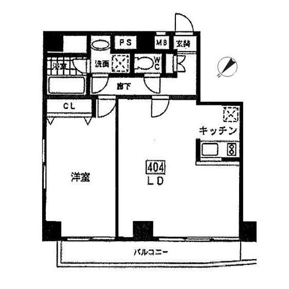エルスタンザ参宮橋404号室