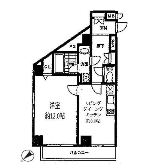 エルスタンザ参宮橋503号室