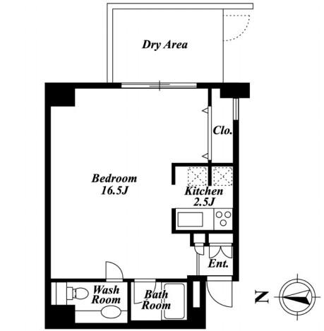 パレスサイドステージホームズ麹町 002号室