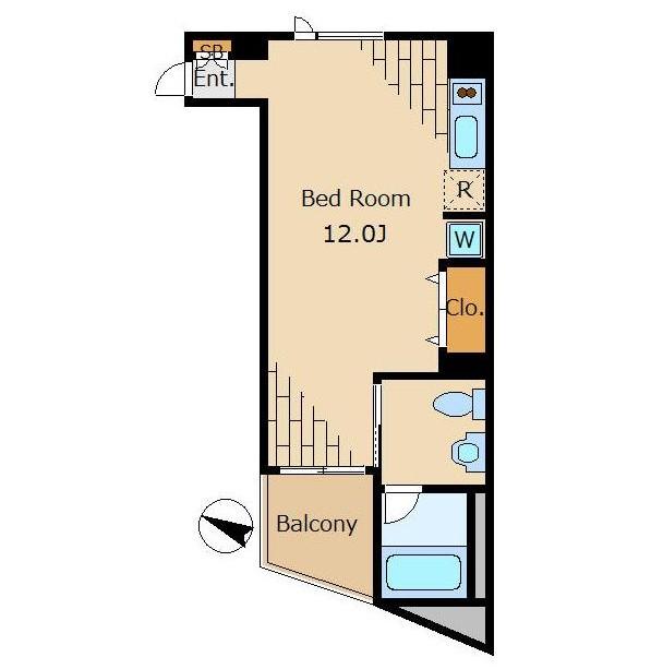 ベルファース松濤203号室
