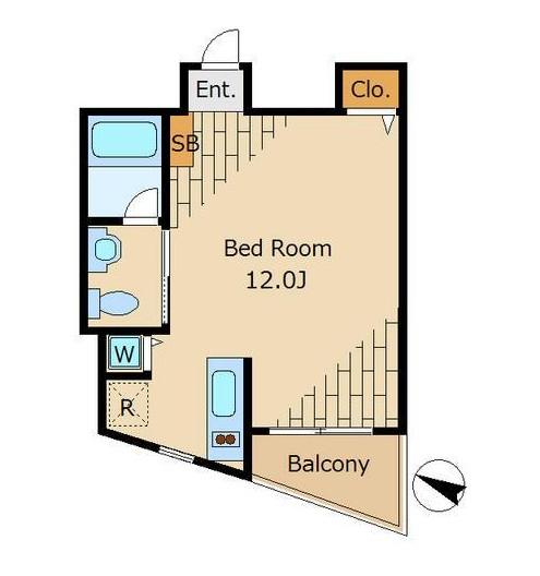 ベルファース松濤702号室
