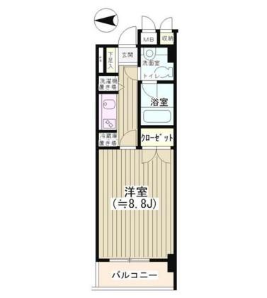 NONA PLACE渋谷神山町108号室