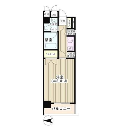 NONA PLACE渋谷神山町210号室