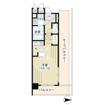 NONA PLACE渋谷神山町401号室