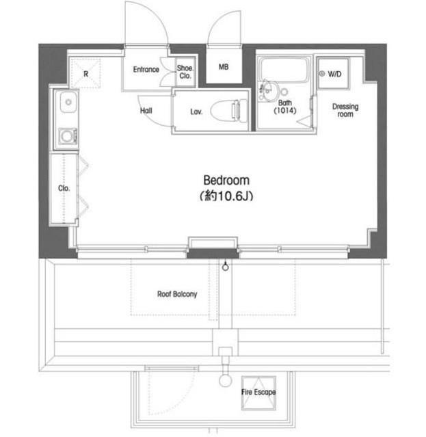 コンフォリア東中野602号室