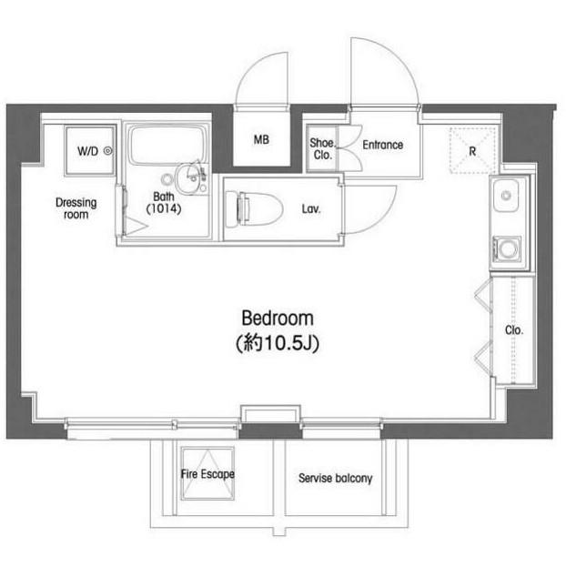 コンフォリア東中野604号室