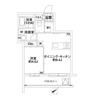 KDX代々木レジデンス204号室