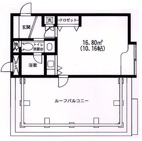 原宿東急アパートメント404号室