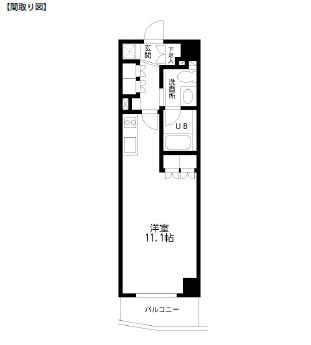 レジディア幡ヶ谷205号室