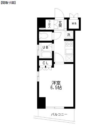 レジディア幡ヶ谷301号室