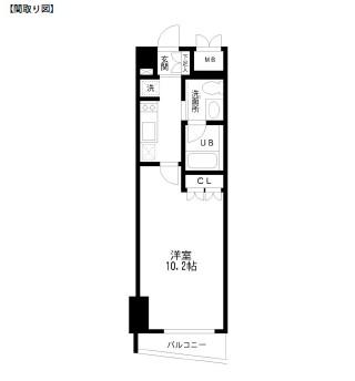 レジディア幡ヶ谷303号室