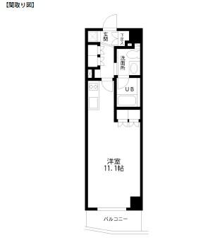 レジディア幡ヶ谷304号室