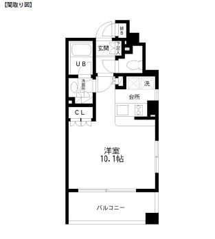 レジディア幡ヶ谷406号室