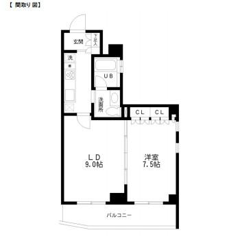 レジディア幡ヶ谷604号室