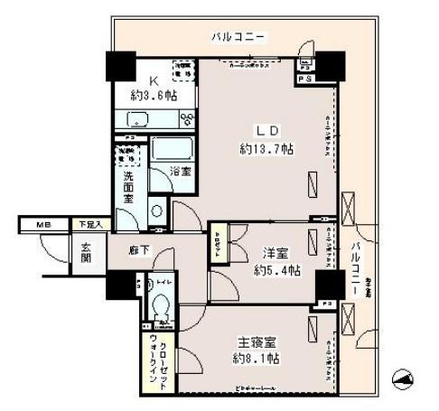 パーク・アヴェニュー神南406号室
