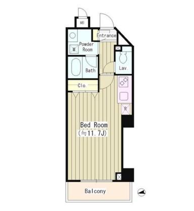 ルミナス神楽坂402号室