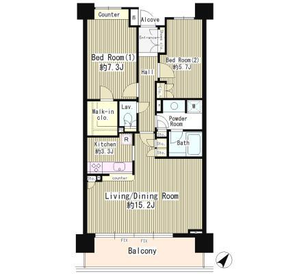 クラッサ目黒107号室
