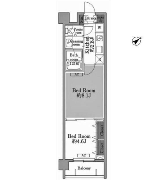 メゾン・ド・コリーヌ市ヶ谷103号室