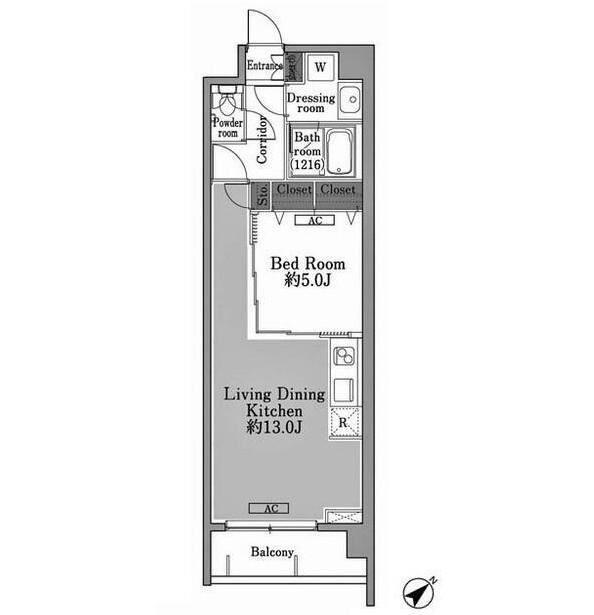 メゾン・ド・コリーヌ市ヶ谷104号室
