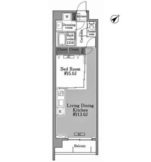 メゾン・ド・コリーヌ市ヶ谷201号室