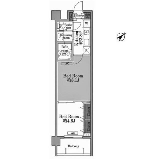 メゾン・ド・コリーヌ市ヶ谷203号室